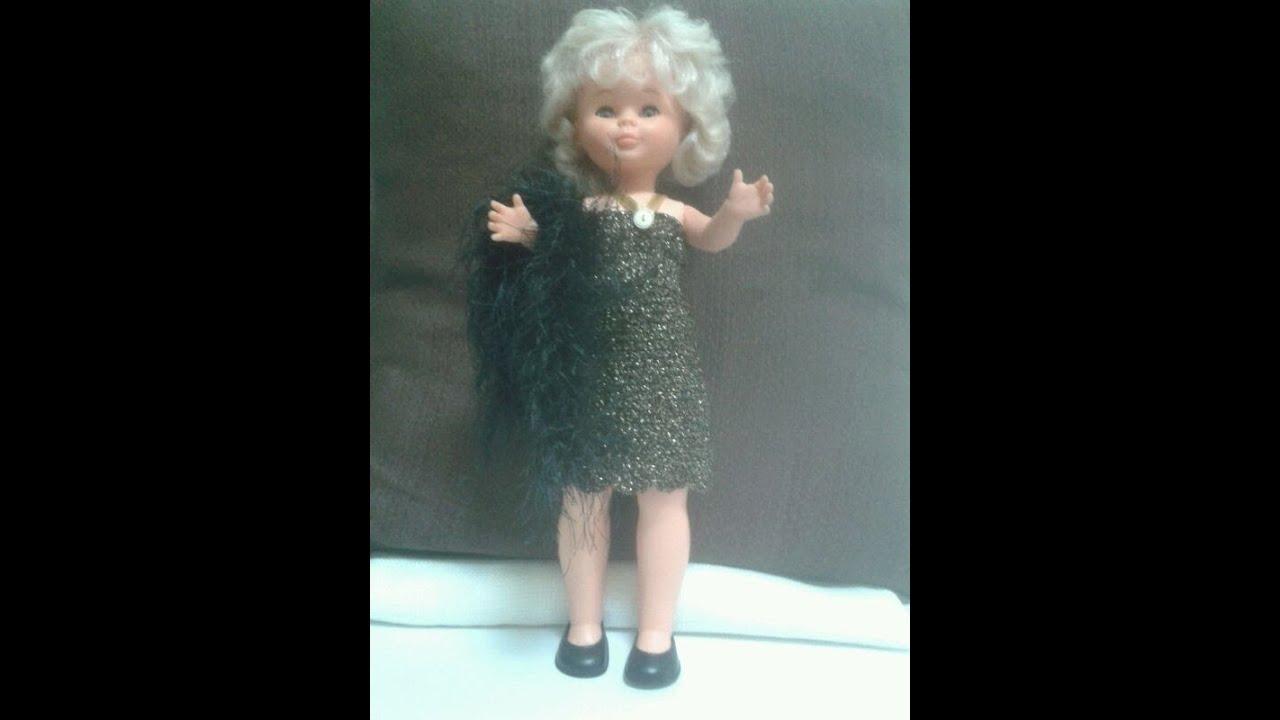Crochet Nancy Puppe Kleider - YouTube