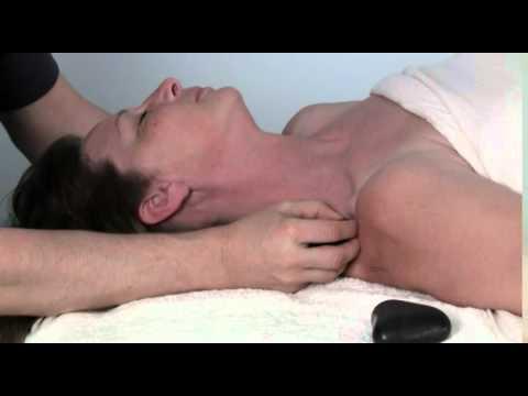 Stone Massage Neck Demonstration With Bruce Baltz