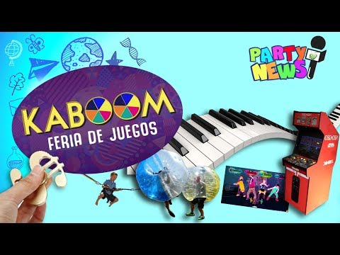 PARTY NEWS: KABOOM Feria de Juegos  - Quito Ecuador 2017