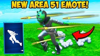 *NEW* AREA 51 EMOTE IS AMAZING!! - Fortnite Funny Fails and WTF Moments! #688