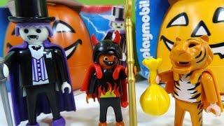 Playmobil Halloween Drácula y Niños Disfrazados - Juguetes de Playmobil