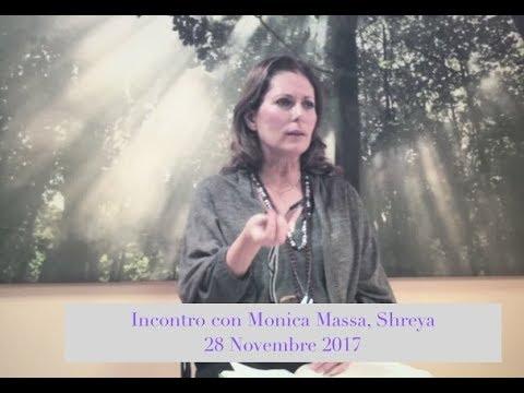 Incontro con Monica Massa, Shreya del 28 novembre 2017