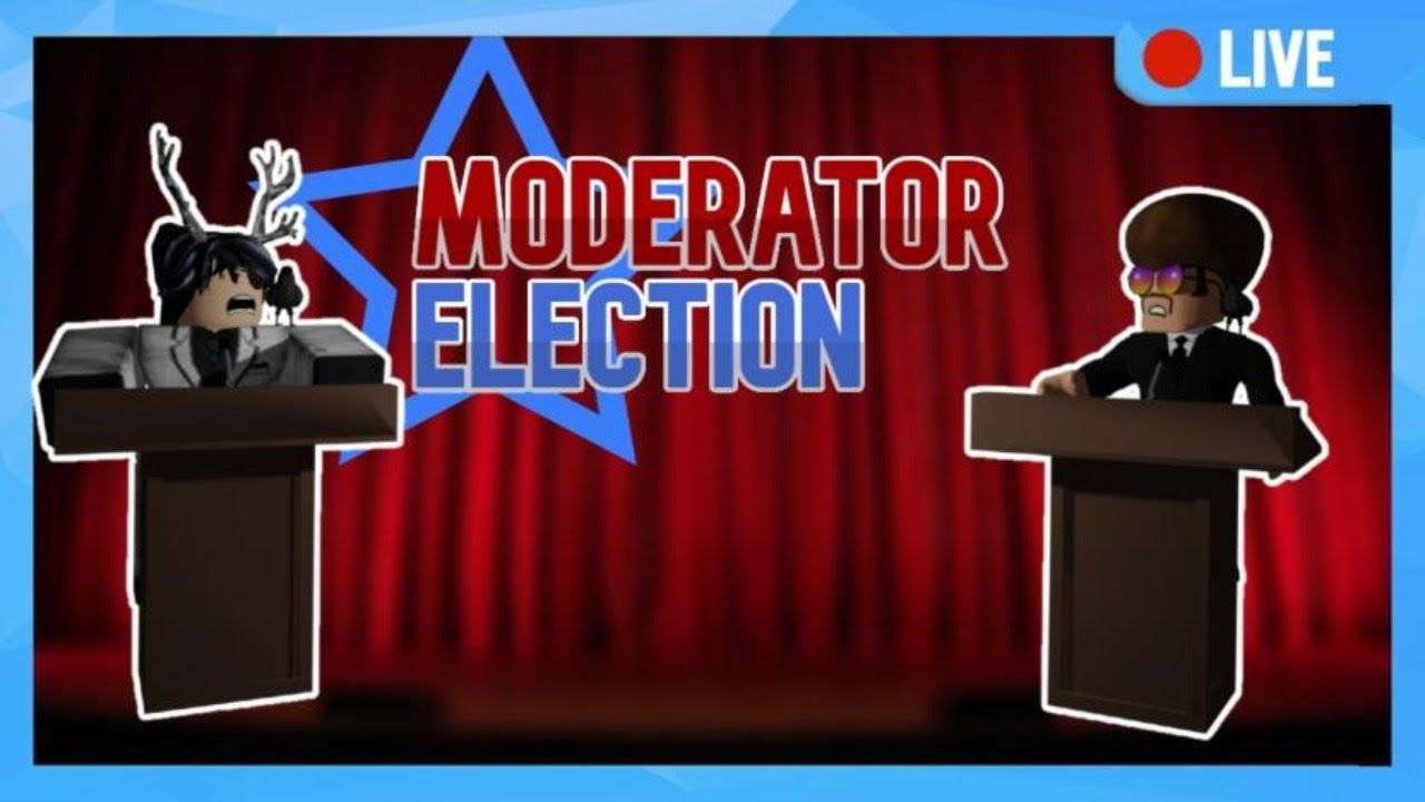 In Roblox How Many Moderators Are There 2020 Moderator Elections Simulator Games Roblox Live