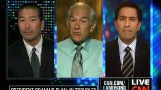 Drs Paul Song, Ron Paul, Sanjay Gupta on Health Care: Public Option, Single Payer, Costs & Freedom