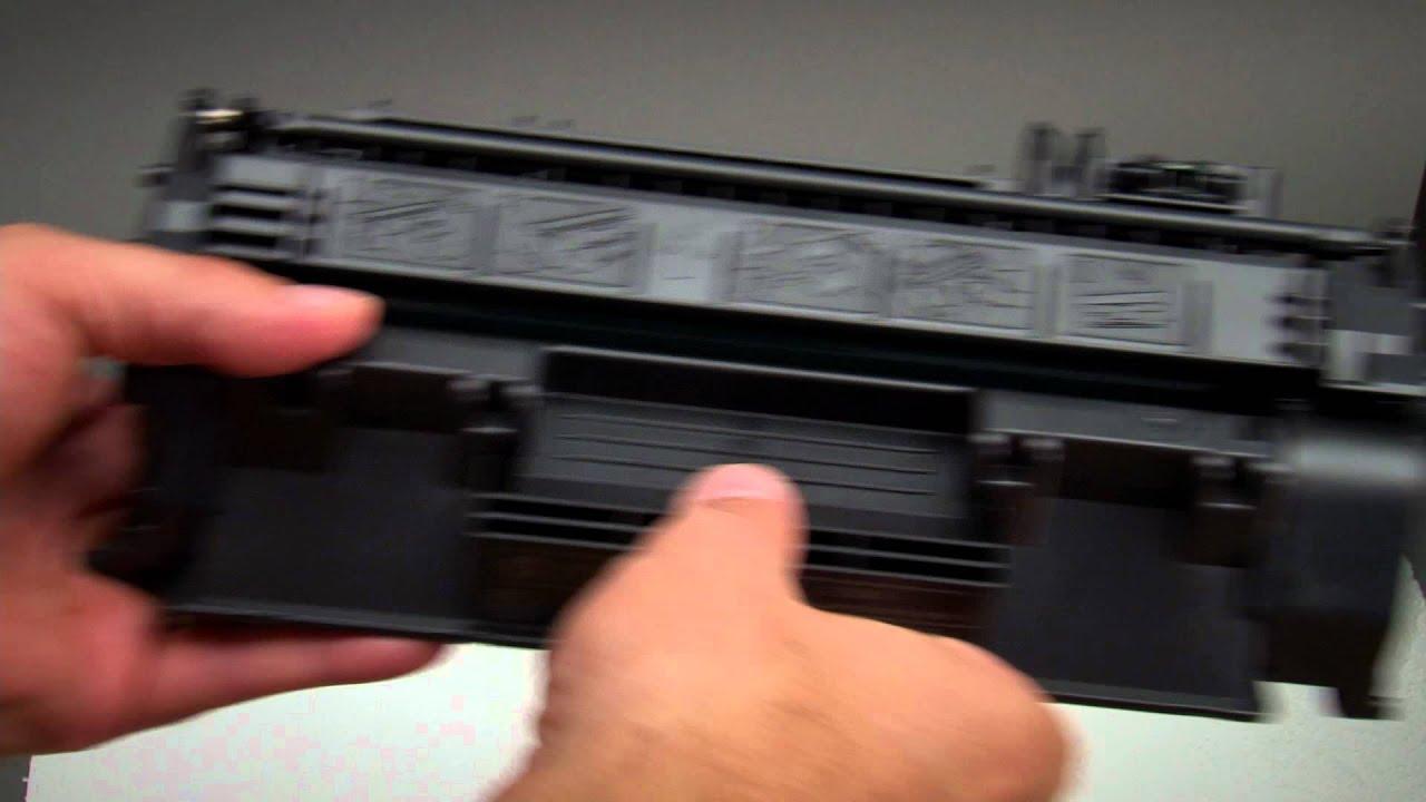 How To Tonerkartusche Wechseln Beim Hp Laserjet Pro 400