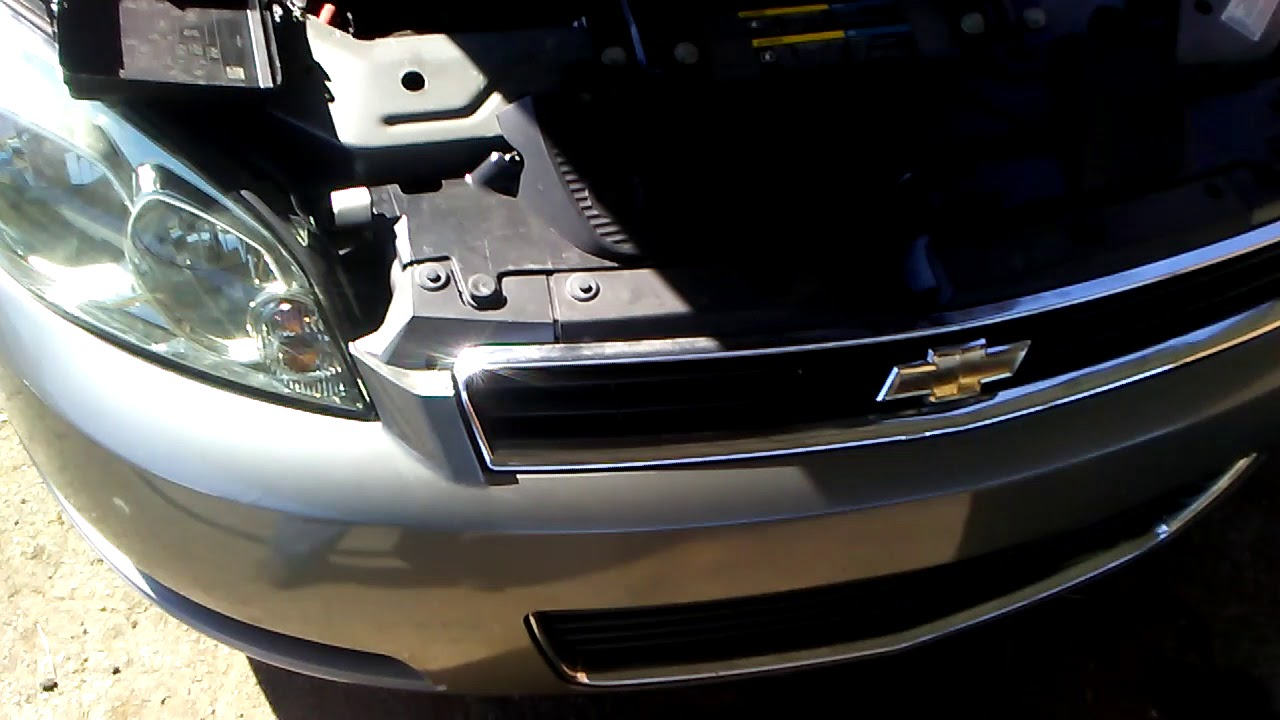 chevy impala headlight assembly and low beam headlight fix