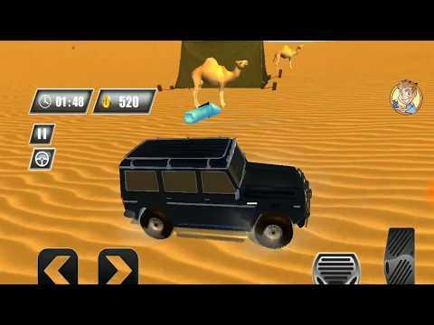 Dubai Desert Safari Jeep 4X4 Game   Offroad SUV Driving Game 2019   Android GamePlay