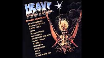 Heavy Metal Movie Soundtrack List