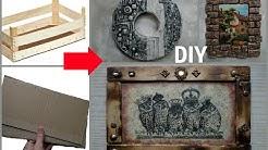 3 идеи панно из бросового и подручного материала