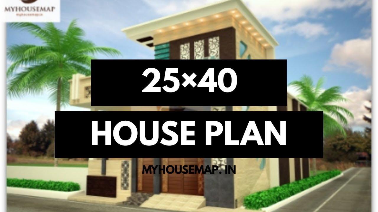 House plan 25x40