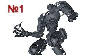 Cinema 4D: Механический Робот, Xpresso: Урок №1 [HD]