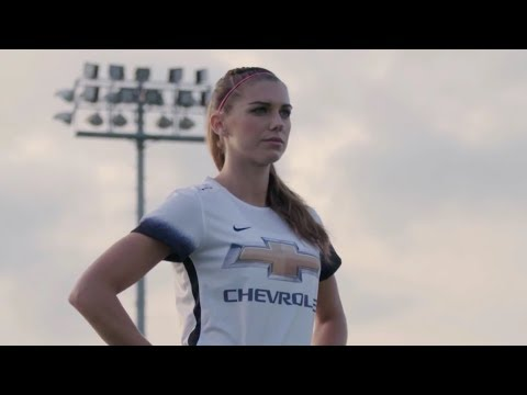 """All Star Chevy >> USWNT - Alex Morgan """"I'm Living Out My Dream"""" (Chevy Youth Soccer Ambassador: New Goals) - 6-12 ..."""