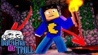 Minecraft: TROLL DA CASA INFINITA! (Batalha de Troll)