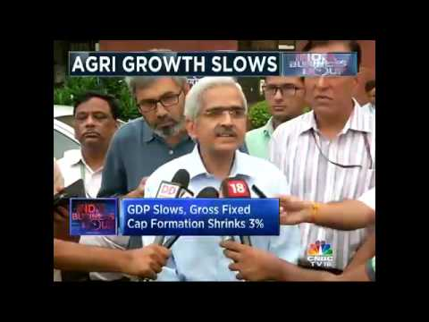 GDP Slows, Gross Fixed Cap Formation Shrinks 3%