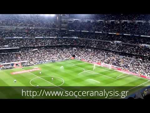 Atmosphere at Estadio Santiago Bernabéu (23/03/14)