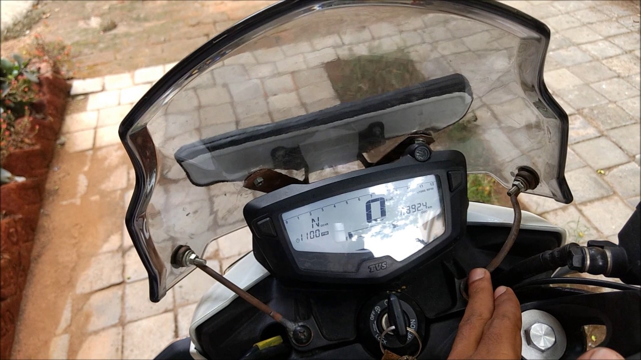 TOURING VISOR FOR TVS APACHE RTR 200 4V