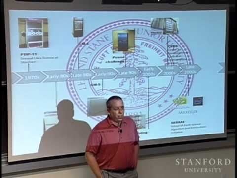 Stanford Seminar - High Performance Computing in the Oil Industry
