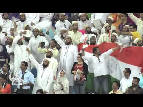 """Bharat Mata ki Jai""  & ""Modi-Modi"" Echoed throughout the Dubai Stadium"