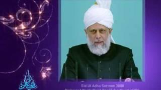 Eid Ul Adha 2009 - The Importance of Sacrifice (Urdu) - 3