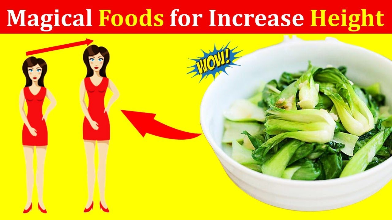 16 Best Foods for Increase Height At Home - Foods To Grow Taller Fast