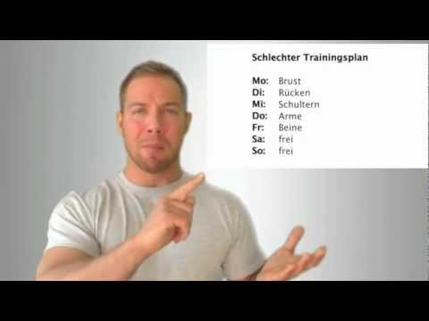 Tipps zum Trainingsplan - Wie viel Regeneration brauchen meine Muskeln?