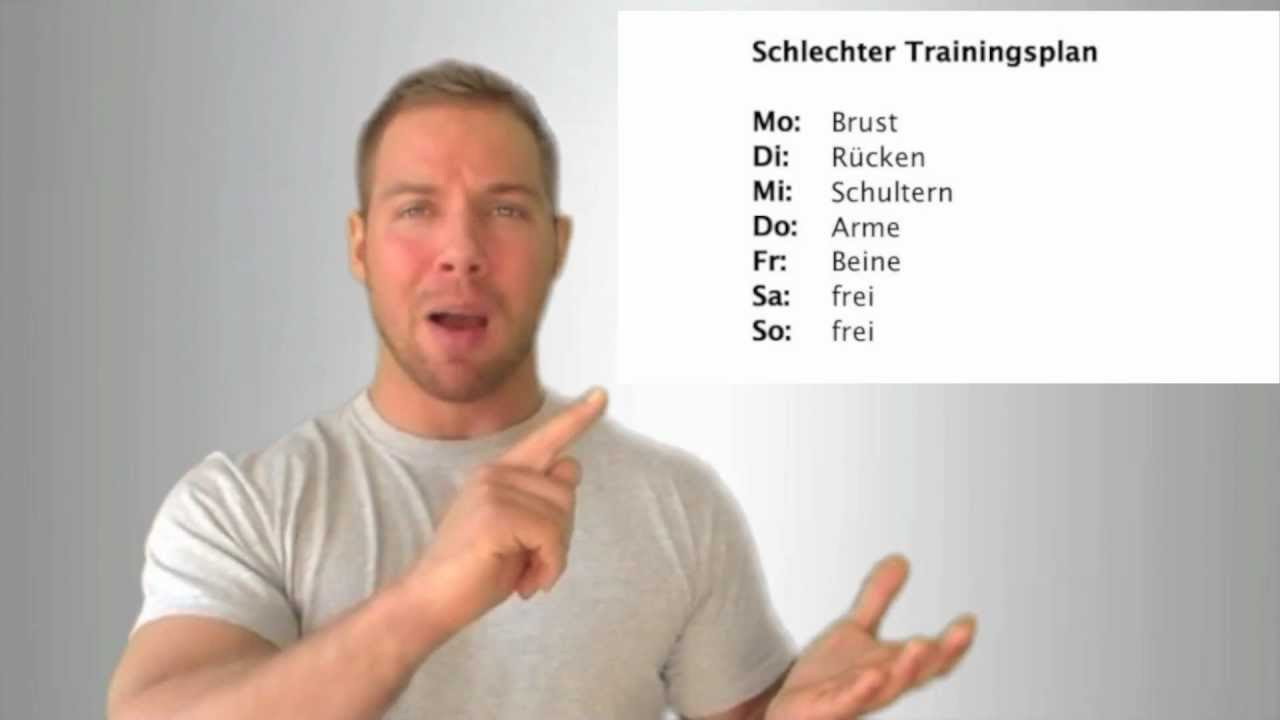 Tipps zum Trainingsplan - Wie viel Regeneration brauchen meine ...