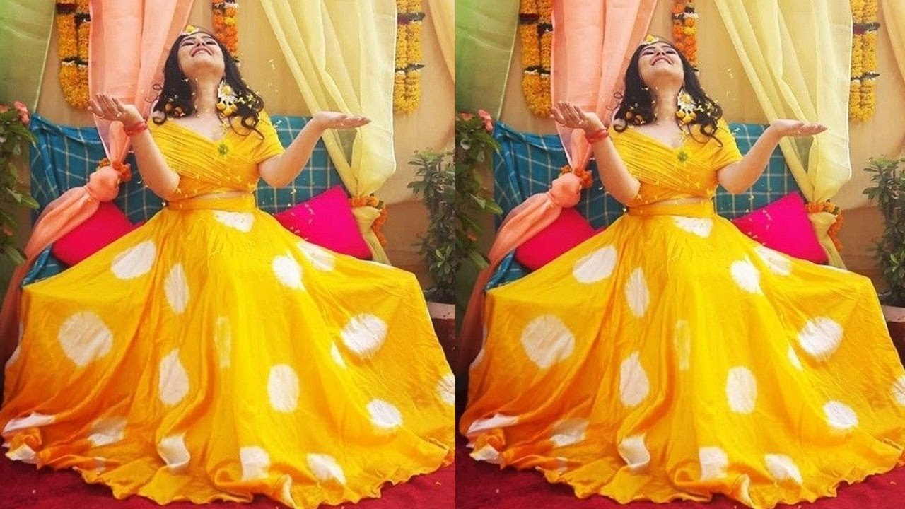 Haldi Function Dress Designs