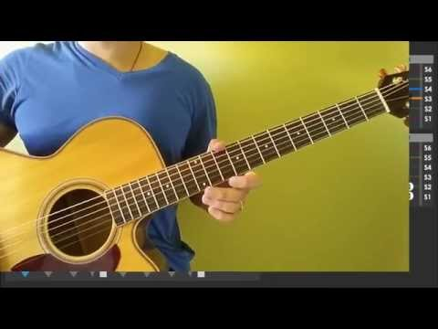 Counting Stars - One Republic - Easy Guitar Tutorial (No Capo)