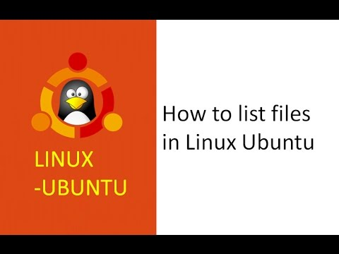 Linux Command To List All Directories And Subdirectories , Easy To List All Files In A Directory