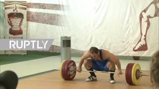 Отстраненные от Игр тяжелоатлеты выступили на турнире «Гераклион 2016»