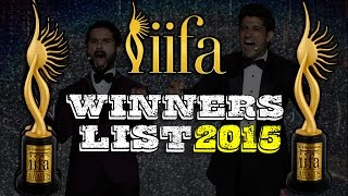 IIFA Awards 2015 Winners List | Haider, Queen, PK, 2 States, Kick, Bang Bang, Ek Villain