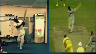 The Best Imitation of Sir Viv Richards | Sports Tak | Michael Carberry