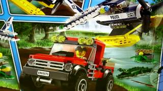 Lego City - Water Plane Chase Review! Set 60070