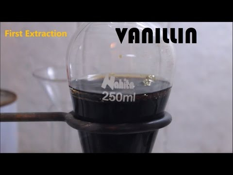How to extract vanillin