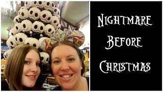 Shopping for Nightmare Before Christmas at the World of Disney w/Prices [Fall 2017]