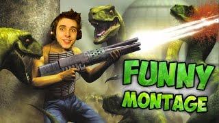 Man Vs Dinosaurs! - Turok Funny Montage
