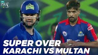 Super Over Karachi Kings Vs Multan Sultans Match 31 HBL PSL 2020 MB2E