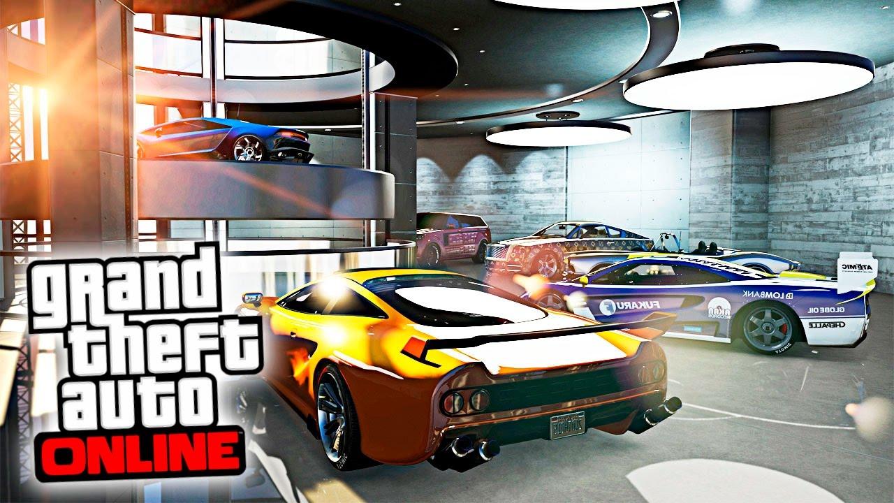 Nuevo garaje para meter 60 coches nuevo dlc gta v - Garaje de coches ...