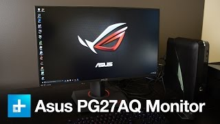 asus PG27AQ Monitor - Hands on review