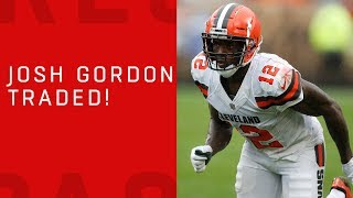 Josh Gordon Traded to Patriots!