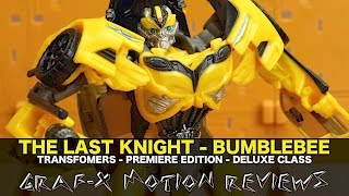 Transformers The Last Knight Deluxe Bumblebee - Premiere Edition - Review
