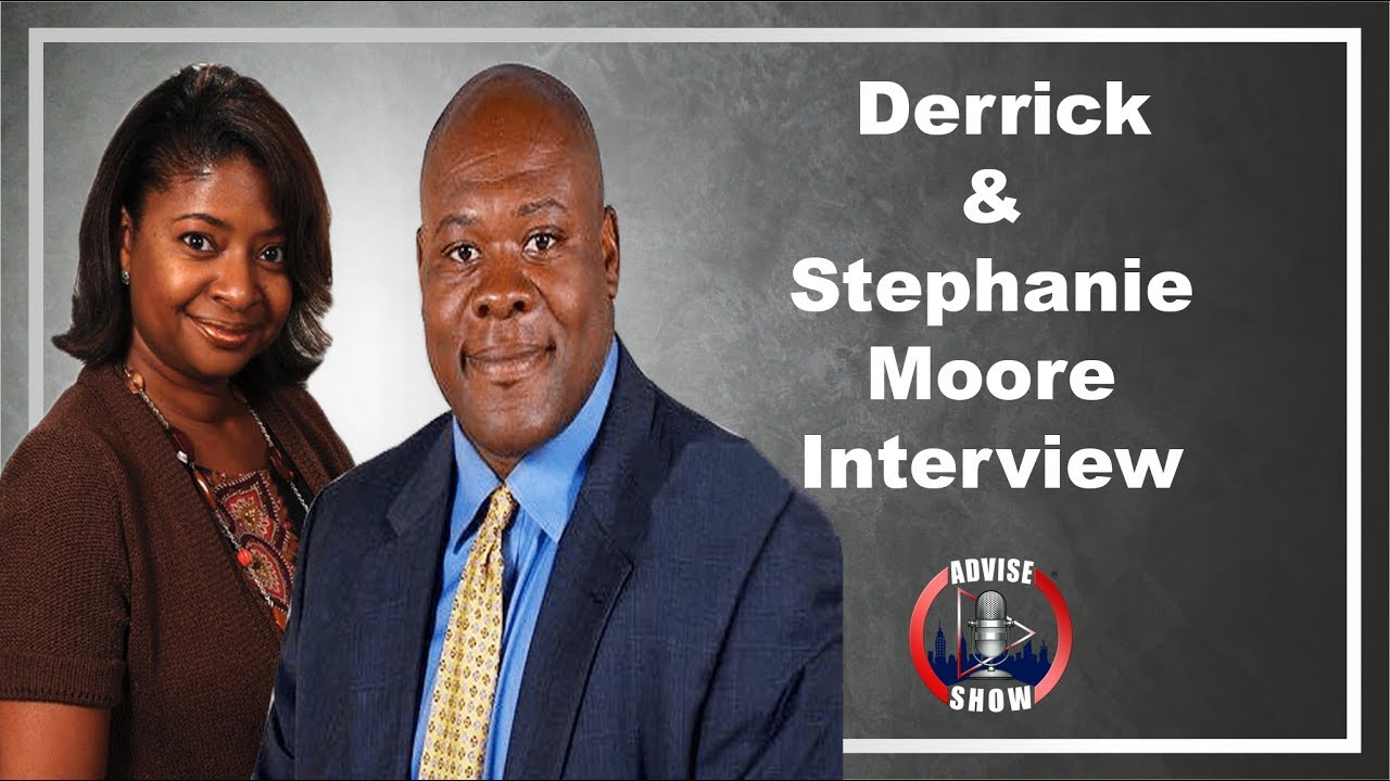 Derrick & Stephanie Moore Speaks On Being Married 25 Years, Playing In The NFL & Writing 60