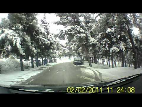 Λαμία 2-2-2012 Χιόνια