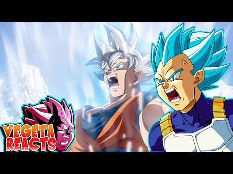 Vegeta Reacts To Goku Mastered Ultra Instinct vs Broly