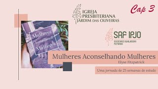 Mulheres Aconselhando Mulheres - Cap 3   Mirtis Moraes   31/mar/2021