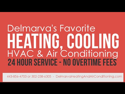 Heater, Furnace & AC Repair in Salisbury, MD 443-614-2068 [TOP RATED]