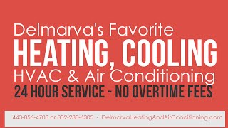 Heater, Furnace & Air Conditioning Repair in Salisbury MD. TOP RATED