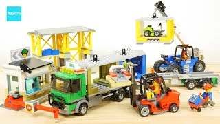 レゴ シティ 配送センターとコンテナトラック 60169 / LEGO City Town Cargo Terminal 60169