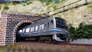 【字幕解説】KATO Nゲージ E217系横須賀線付属編成を開封してみた!! N-scale model Series E217 Yokosuka-line