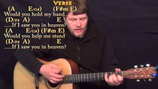 Tears in Heaven (Clapton) Strum Guitar Cover Lesson with Chords/Lyrics